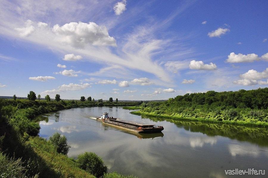 Река Дон в Воронежской области