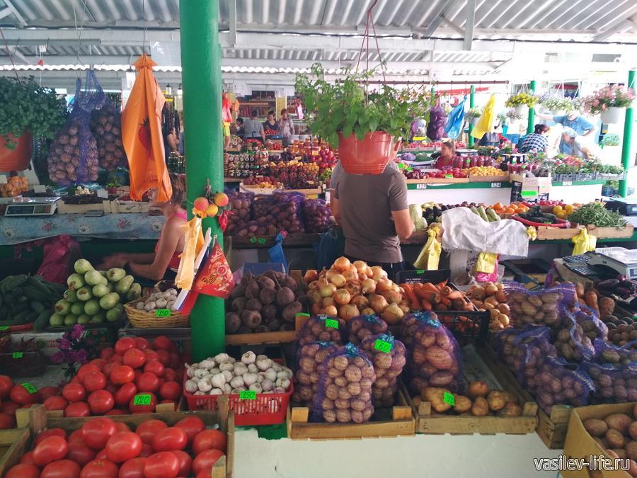 Рынки в Судаке