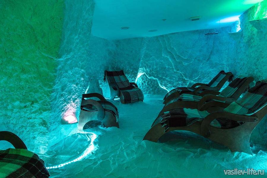 Санаторий Ай-Даниль, соляная пещера