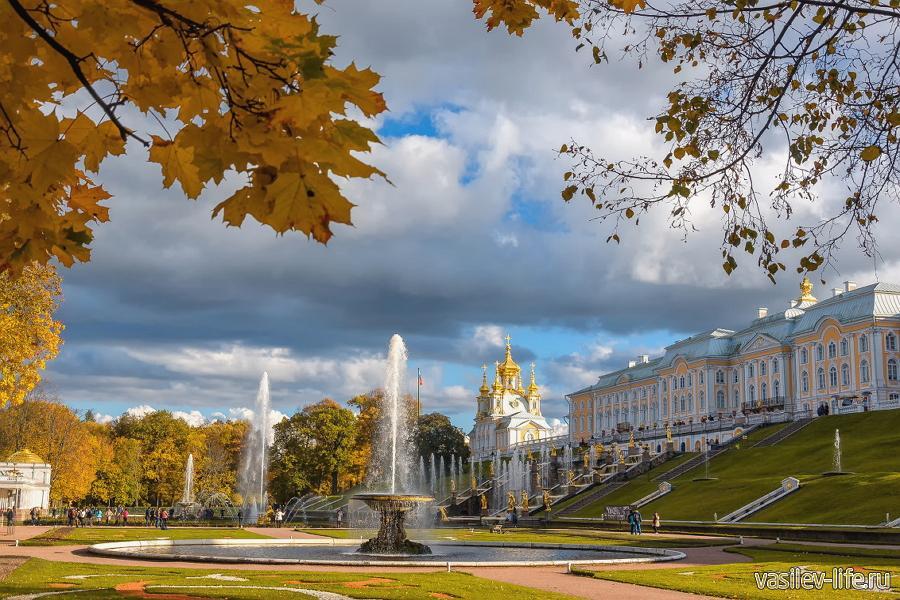 Санкт-Петербург в сентябре