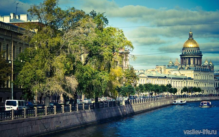 Санкт-Петербург летом