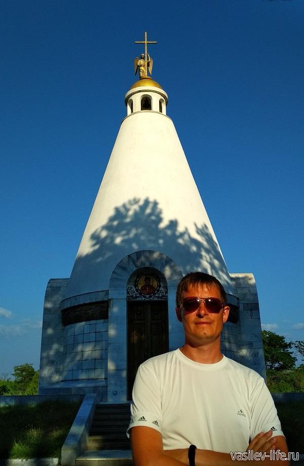 Сапун-гора в Севастополе - часовня Георгия Победоносца
