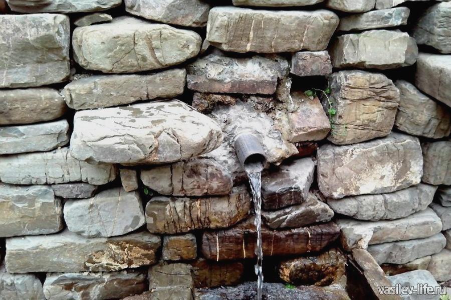 Сероводородный источник в Катковой щели