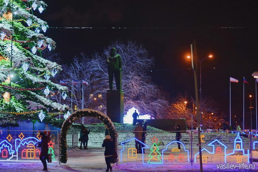Симферополь в январе