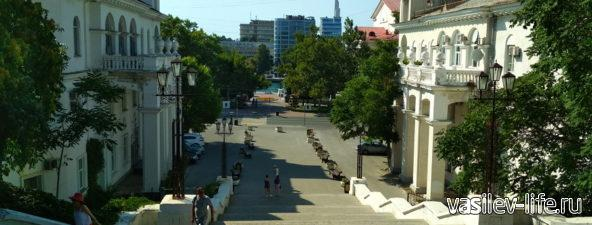 Синопская лестница в Севастополе