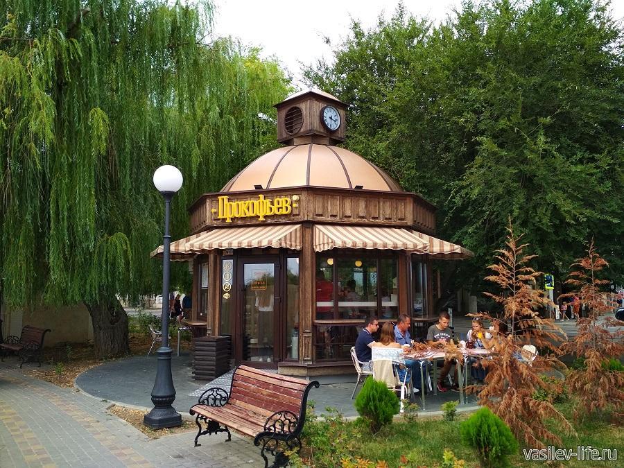 Сквер имени Караева в Евпатории (2)