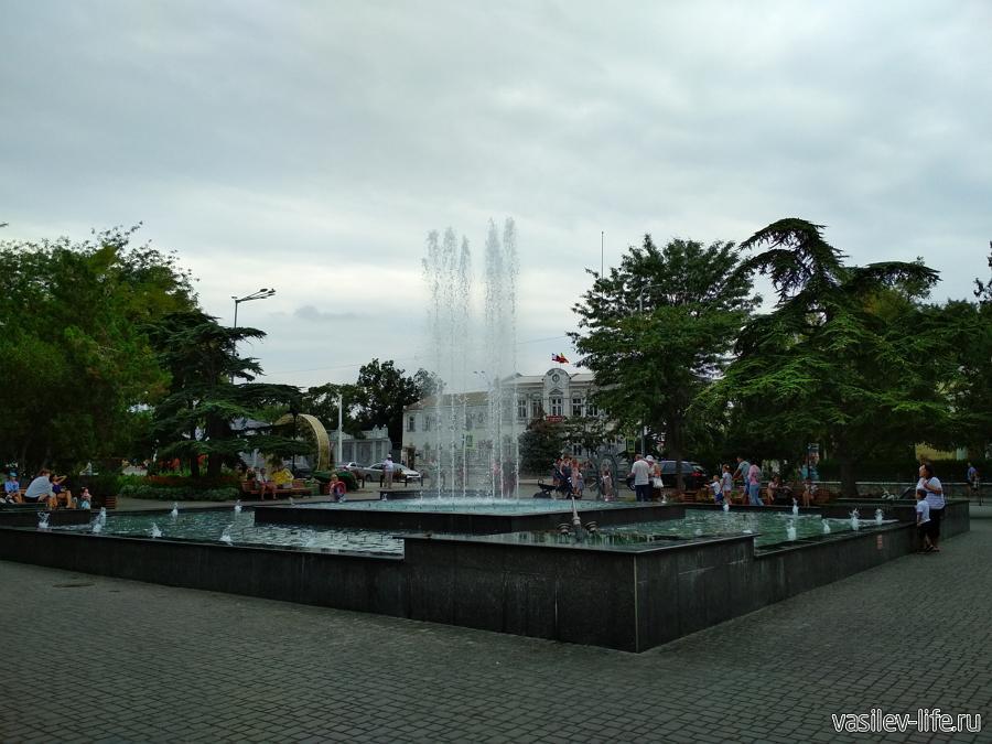 Сквер им. Ленина в Евпатории