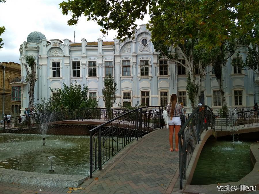 Сквер им. Мамуны в Евпатории