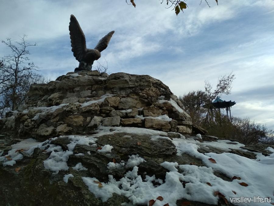 Скульптура «Орел» в Пятигорске