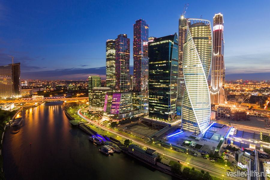 Смотровая площадка «Москва Сити»