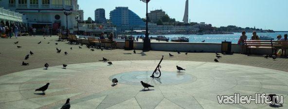Солнечные часы в Севастополе