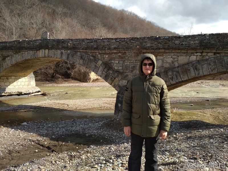 Старый Даховский мост 3