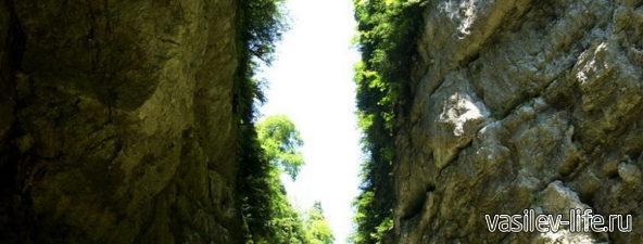 Сухая балка и водопад «Яворов»3
