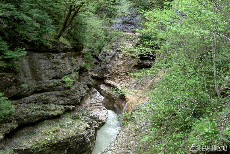 Сухая балка и водопад «Яворов»4