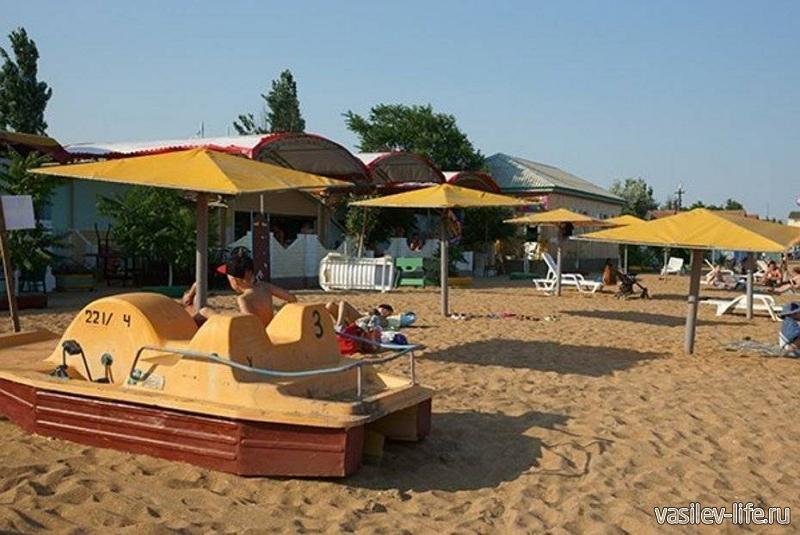 ТОК «Золотой пляж» развлечения для детей