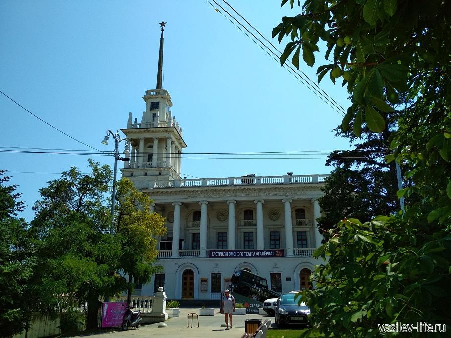 Театр Лавренева в Севастополе