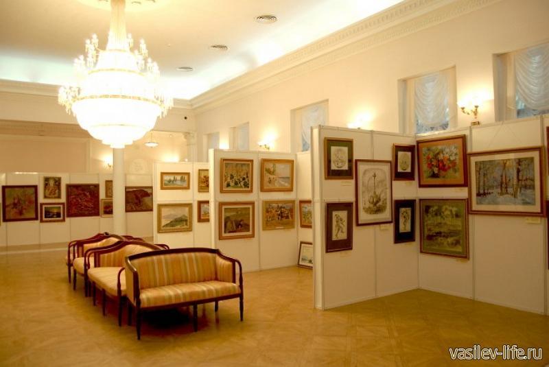 Театр имени А. Чехова в Ялте (внутри)
