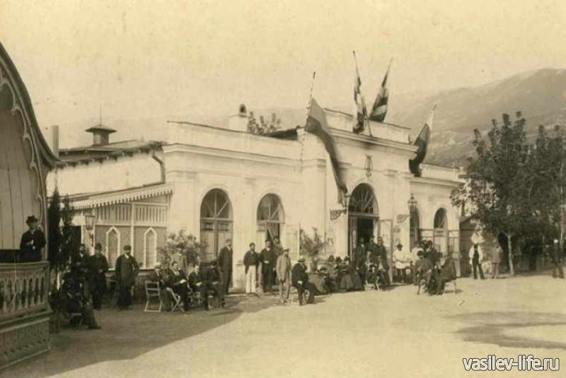 Театр имени А. Чехова в Ялте (1900 год)