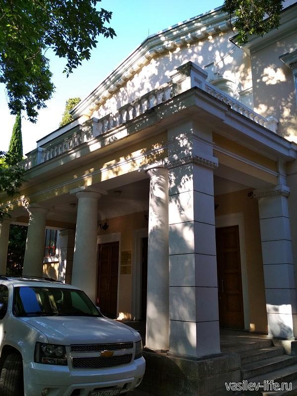 Театр им. Чехова в Ялте