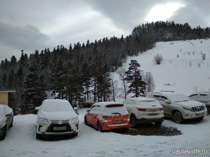 Теплая зима на плато