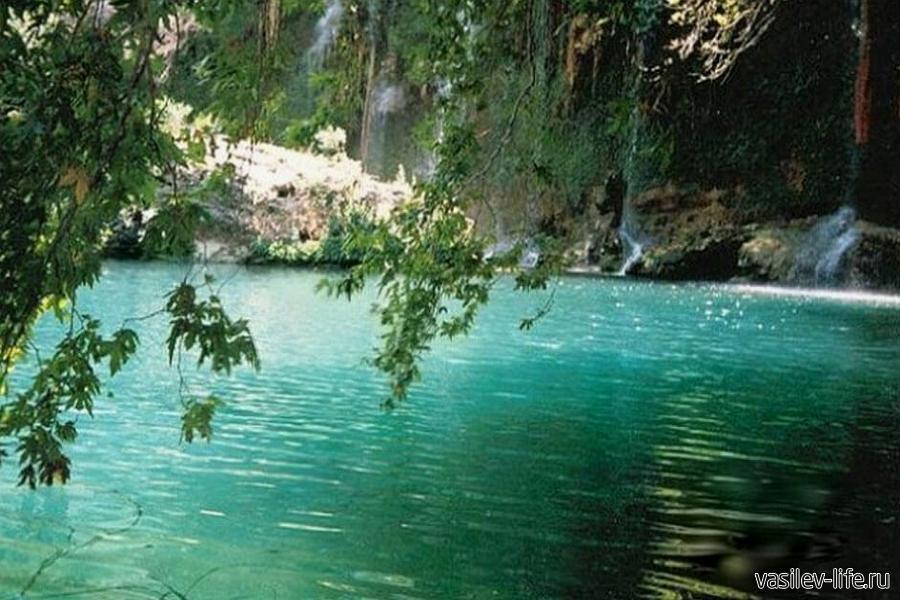 Термальные источники Кангал, Турция