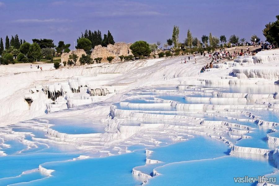 Термальные источники Памуккале, Турция