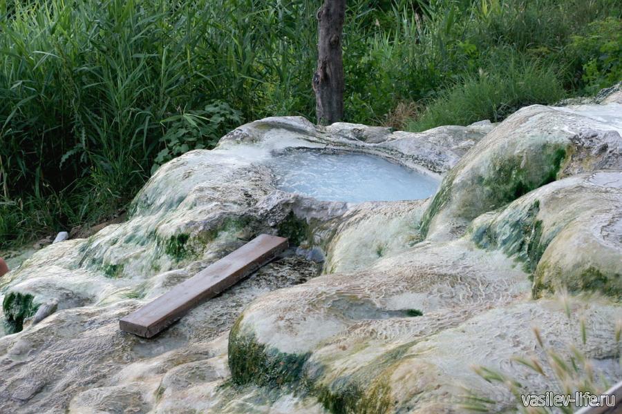 Термальные источники Пятигорска, бесстыжие ванны
