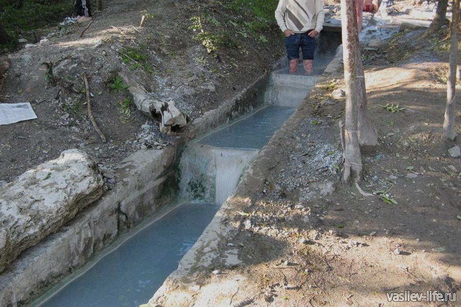 Термальные источники Пятигорска, народные ванны