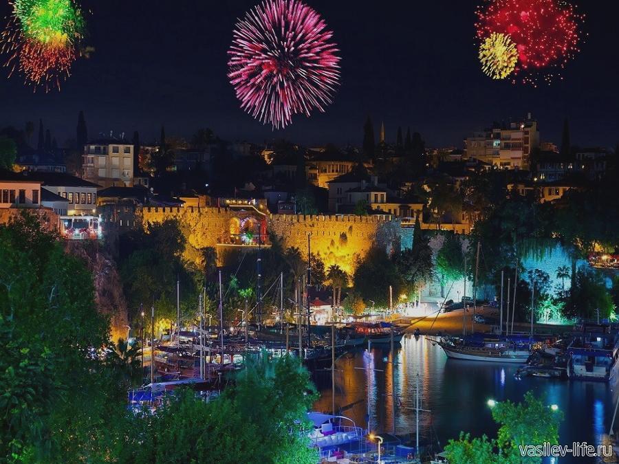 Турция в Новый год, Анталия