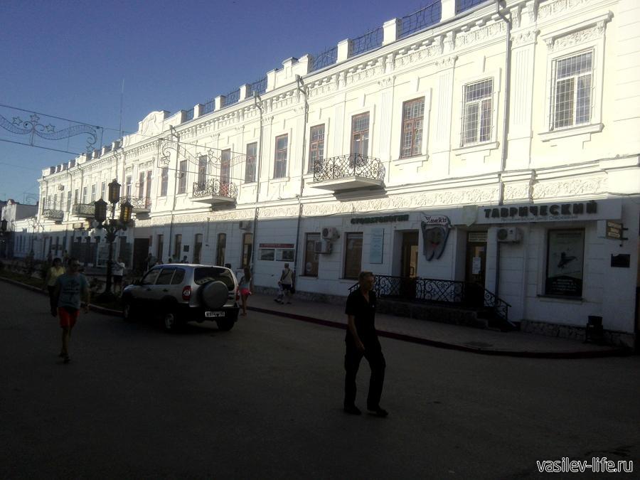 Улица Земская, Феодосия