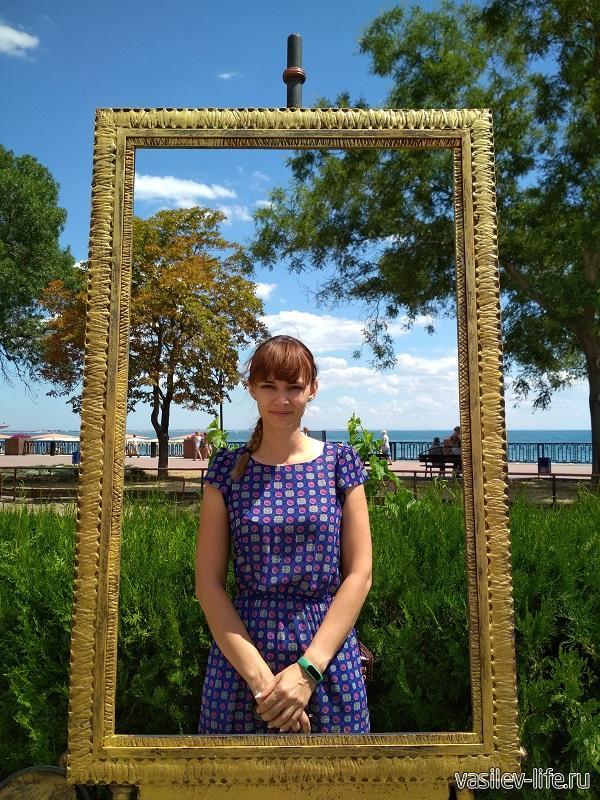 Ульянка возле музея