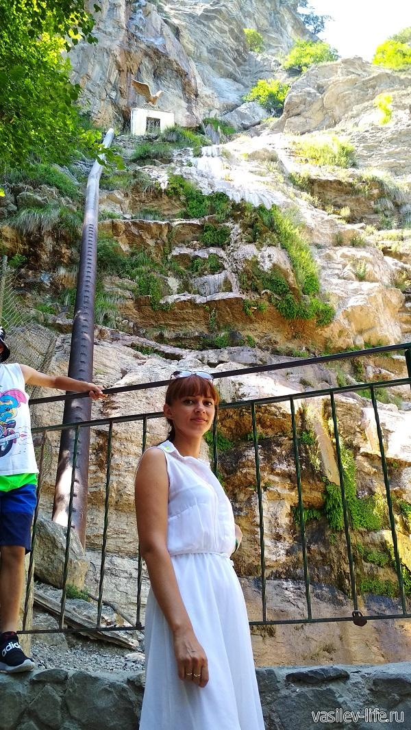 Ульянка на водопаде Учан-Су