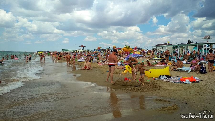 Фото пляжа базы отдыха Прибой
