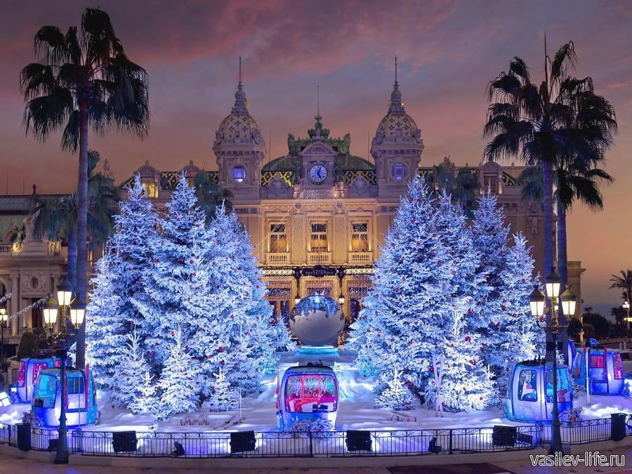 Франция, Новый год
