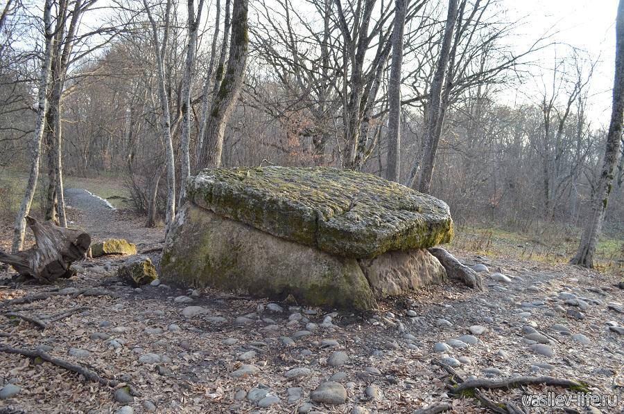 Хаджохский дольмен в Каменномостском (Адыгея) (10)