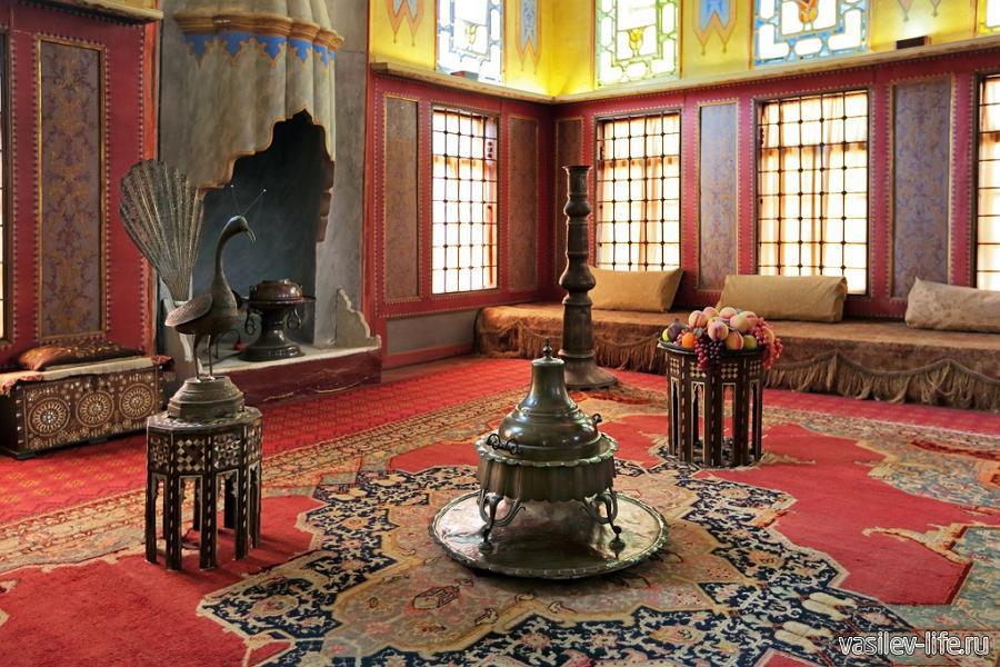 Ханский дворец в Бахчисарае, гаремный комплекс внутри