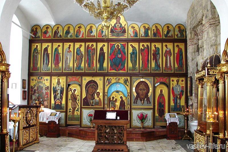 Храм Иоанна Предтечи внутри