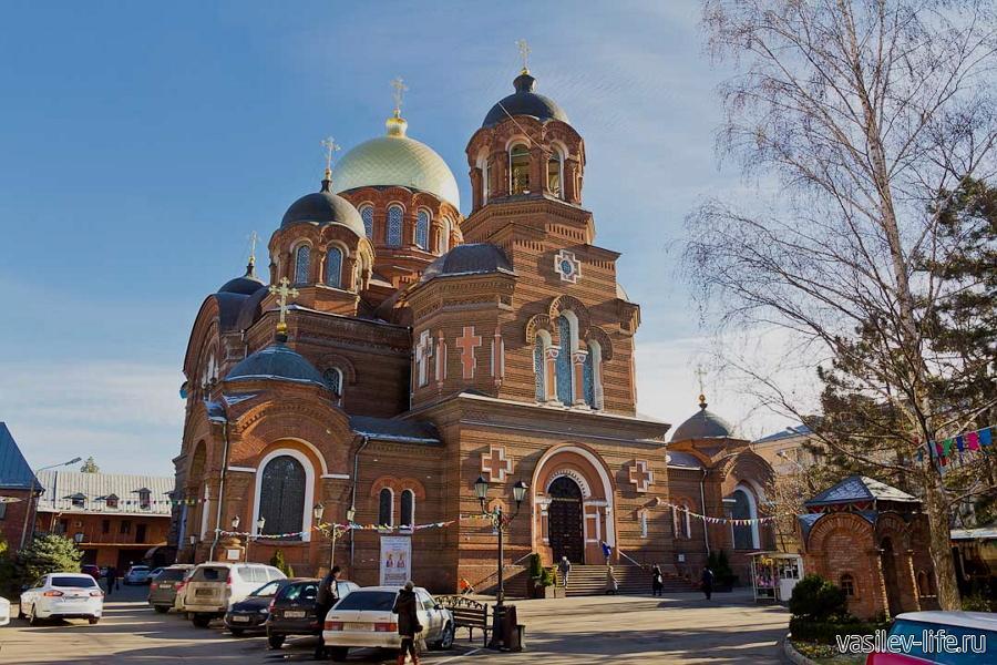 Храм Святой Екатерины в Краснодаре