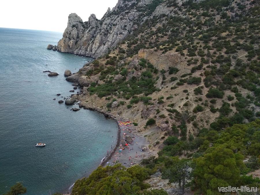 Царский пляж в Новом Свете (2)