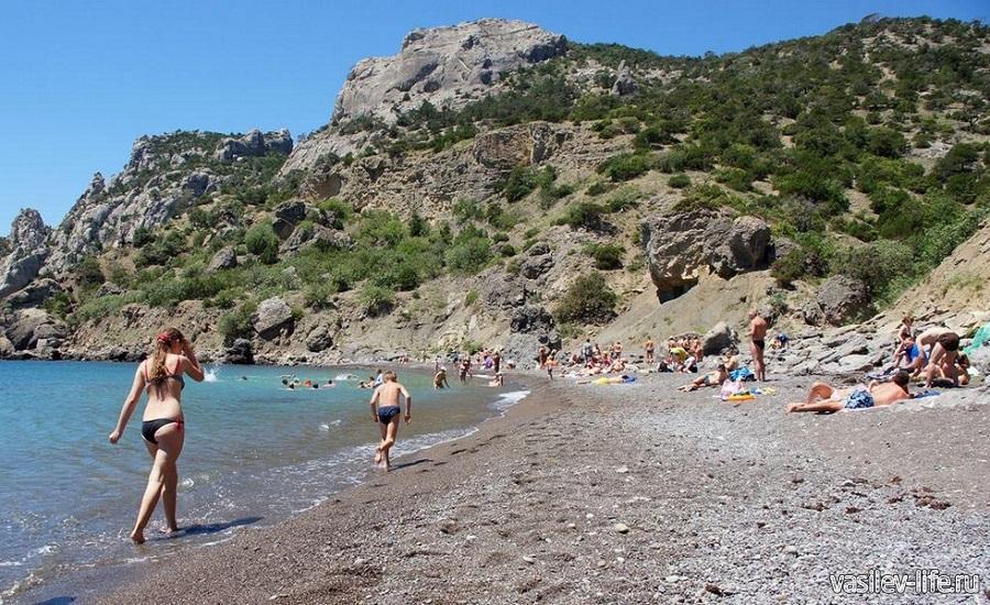 Царский пляж в Новом Свете 4