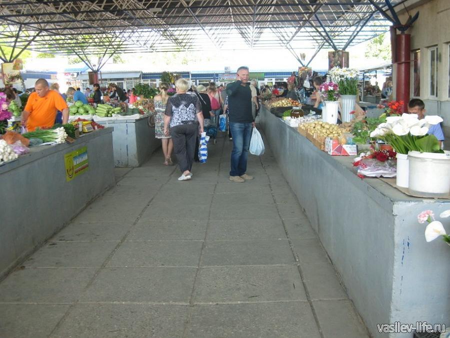 Центральный рынок Феодосии