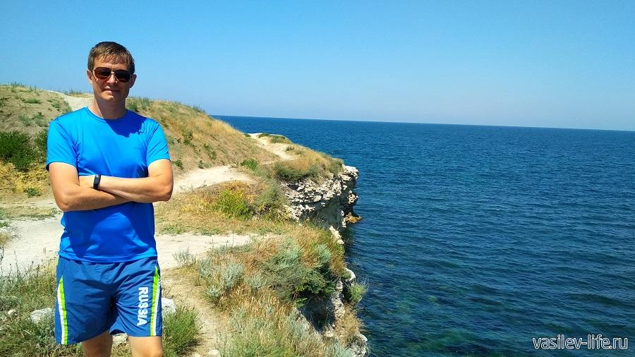 Черное море возле Херсонеса
