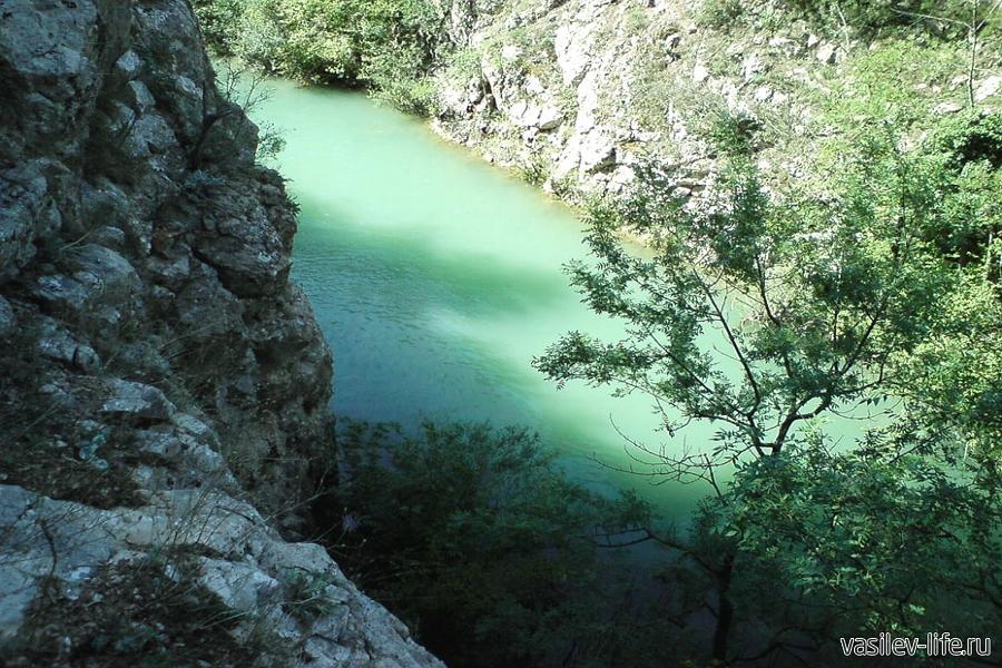Чернореченский каньон в Крыму