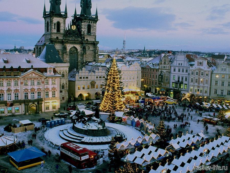 Чехия, Прага, Новый год