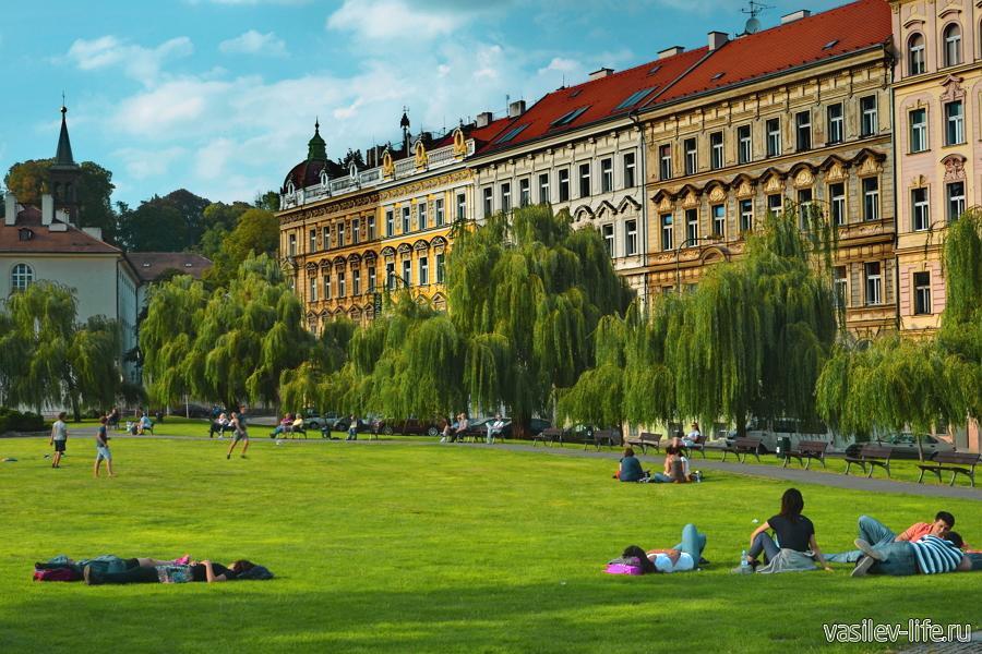 Чехия в августе