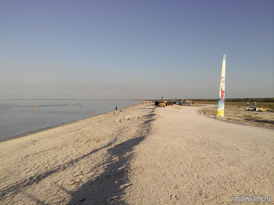 """Бескрайние """"дикие"""" пляжи Азовского моря"""