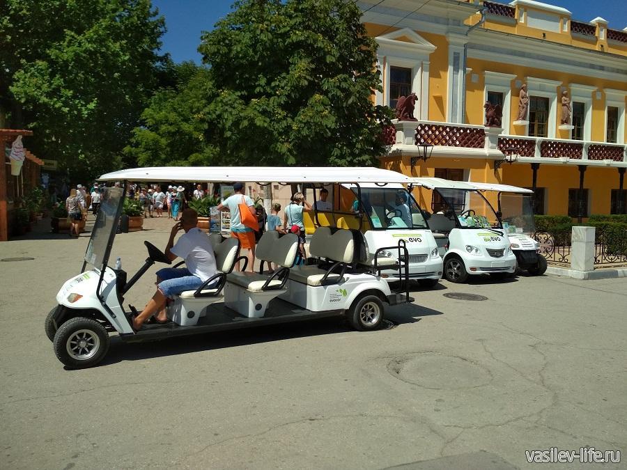 Рекомендую!!! Экскурсию на электромобиле в Феодосии (сбор возле картинной галереи Айвазовского)