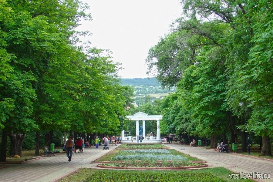 Юбилейный парк Феодосии