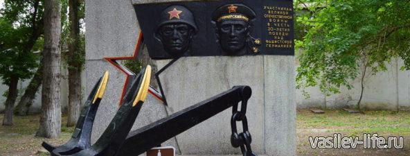 Якорь крейсера «Красный Кавказ»