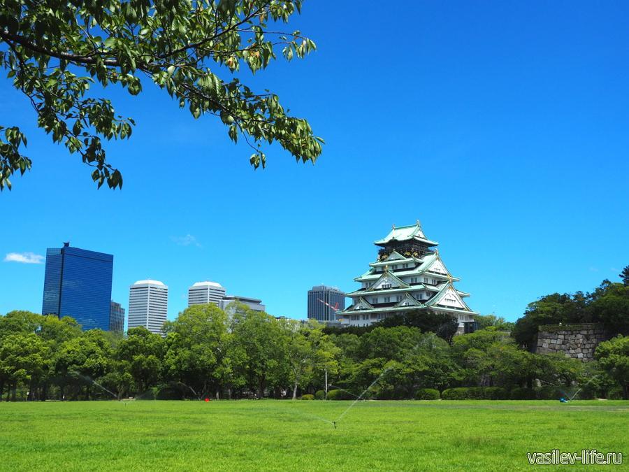 Япония в августе